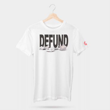 Defund tshirt mens